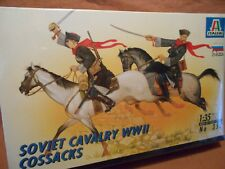 ITALERI  SOVIET CAVALRY COSSACKS no.352  1/35 Figures BNIB Sealed 18 AVAILABLE