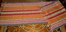 "New Peruvian Fine Handmade Rug or  Table Runner Wool Sheep 15"" x  62"