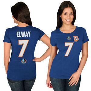 NFL Ladies Jersey Denver Broncos John Elway 7 Blue Ladies Faircatch Girls