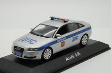 Rare! Audi A6 Road Russian Police Moscow Custom Made 1/43
