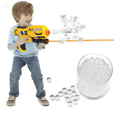 5000 Water Bullet Balls Gun Pistol Toy Crystal Soil Water Beads Mud Transparent