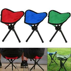 Foldable Tripod Chairs Ultralight Outdoor Camping Fishing BBQ Seat Stool Chair