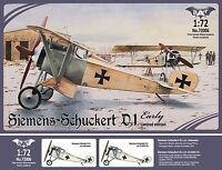 Bat Project - 72006 - Siemens-Schuckert D.1 Early - 1:72   *** NEW ***
