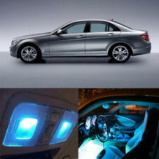 19X Ice Blue Canbus Interior LED Light Kit for Mercedes Benz C Class W204 08-13