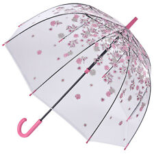 Fulton Parapluie cannes transparent - L041 Black /& White Trim Black /& WhiteTrim