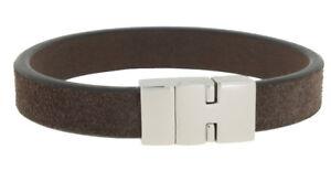 Clochard Fashion Men's Bracelet Stierleder Stainless Steel Magnetic Clasp