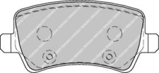 Rear Brake Pad Set Fits Ford Volvo OE 1426143 Ferodo FDB1918
