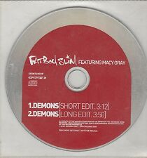 Fatboy Slim Feat Macy Gray Demons Promo CD Single (Norman Cook)