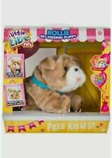 Little Live Pets ROLLIE My Kissing Puppy Interactive Pet  Brand New!