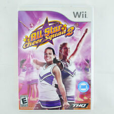 All Star Cheer 2 (Nintendo Wii, 2009) Fitness Fun for Everyone 100% Complete