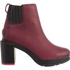 NEW Sorel Margo Chelsea Heel Boots Waterproof Leather sz 8