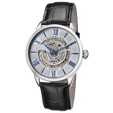 Stuhrling 696 01 Delphi Legacy Automatic Self-Wind Skeleton Date Mens Watch
