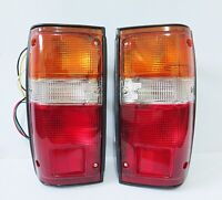 REAR TAIL LIGHT LAMP PAIR FOR TOYOTA HILUX 1984-1988 85 86 87 LN50 PICKUP TRUCK