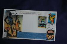 Wonder Woman Modern Age 47c Forever Stamp Combo Fdc Bullfrog Sc#5149 11830 W/Can