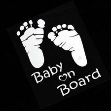 Vinyl Auto Vehicle Decal Car Sticker Baby on Board Window