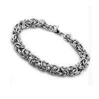 """Stainless Steel Men's/Women's Bracelet 8"""" Fashion Chain Link 6MM Jewelry"""