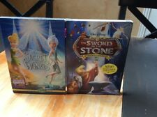New Disney DVD Movies Secret Of The Wings SWORD IN THE STONE DVD SLIPSLEEVE
