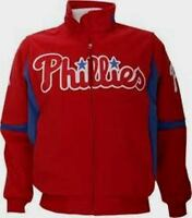 Philadelphia Phillies Authentic Dugout Jacket 5XL Tall Therma Base Premier MLB