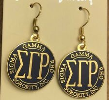 Homecoming special Sigma Gamma Rho 5 pair sorority LS wooden earrings