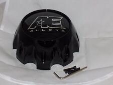 EAGLE ALLOYS AE HARDROCK 8 LUG WHEEL RIM CENTER CAP AEWC 3313 SHINY GLOSS BLACK
