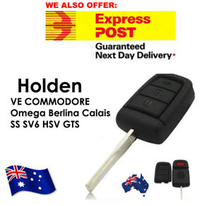 FOR HOLDEN VE COMMODORE Remote key Shell Omega Berlina Calais SS SV6 HSV GTS