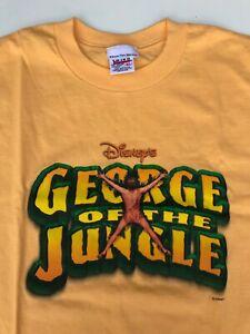 Rare Vintage George of the Jungle XL Disney Movie Promo 1997 90s Shirt NEW
