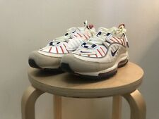 Nike Air Max 98 Sail/Court Purple Men Size 8.5 ( 640744 108)