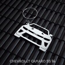 Chevrolet Camaro SS Stainless Steel Keychain