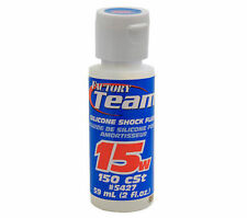Team Associated Silicone Shock Oil 15 wt #5427 OZ RC Models