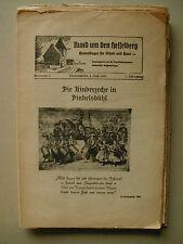RUND UM DEN HESSELBERG Heimatbogen für Schule und Haus Dinkelsbühl 1951 ff.