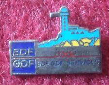 PIN BADGE, METAL & ENAMEL: EDF GDF SERVICES, IROISE