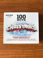 100 Hits Christmas - 4CD CD & DVD Boxset (CD) Brand NEW Sealed