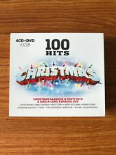 100 Hits Christmas - 4CD CD & DVD Boxset (CD) Brand NEW Sealed