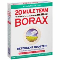 20 Mule Team Borax Detergent Booster Multi-Purpose Cleaner 4 LBS. 1 oz (65 0z)