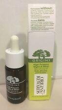 New ORIGINS High-Potency Night-A-Mins Skin Refining Oil 1 oz / 30 ml Full size