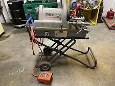 Ridgid Portable Wheeled 1822 I Auto Chucking Pipe Threader 3005351224