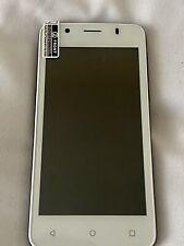 Medion Weiß/Schwarz Handy Android Smartphone e4506-neu für Ersatzteile funktioniert nicht.