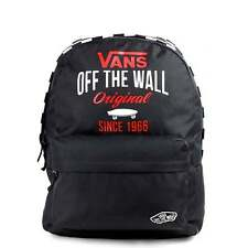 VANS Sporty Realm Backpack - Black Skate School Bag VA2XA3027 - UK Stockist