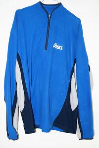 blauer Fleecepullover Gr.XL Oasics