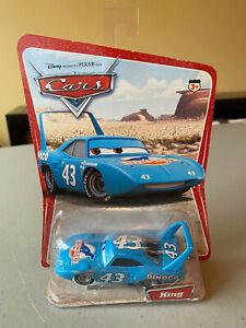 Disney Pixar CARS KING No.43 Dinoco 1:55 Diecast car H6413 Mattel NIB!