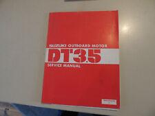 Service manual  Suzuki Außenborder DT 3.5 PS   Werkstatthandbuch 1983