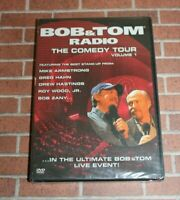 Bob and Tom Radio: The Comedy Tour (DVD, 2006) Vol. 1 Stand-Up Funny Live