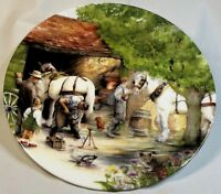 The BLACKSMITH Old Country Crafts by Susan Neale Royal Doulton Collector Plate