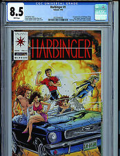 Harbinger #1 with Coupon CGC 8.5  Valiant Comics 1992 Amricons K6