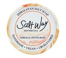 Himalayan Salt Soap Neroli&Petitgrain Non-Toxic Detox Vegan