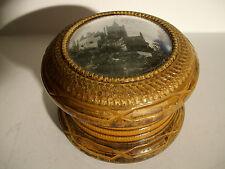 Schöne Schatulle aus Holz  Adelsbesitz um 1870