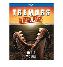 TREMORS 1 2 3 4 : ATTACK PACK -  Blu Ray - Sealed Region free