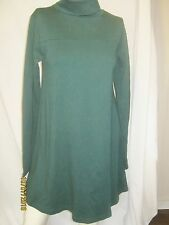 american apparel interlock turtleneck tent dress XL