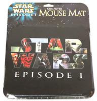 NEW IN PACKAGE Star Wars Episode 1 Computer Mouse Pad, NIP, EX++ Phantom Menace