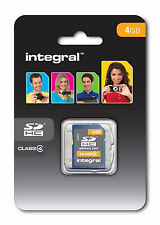 Integral 4GB SDHC Card SDHC Memory Card Genuine Integral